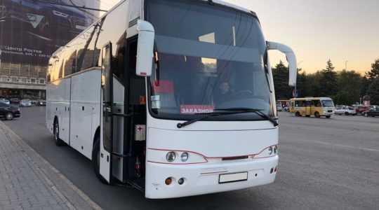 Аренда автобуса скания